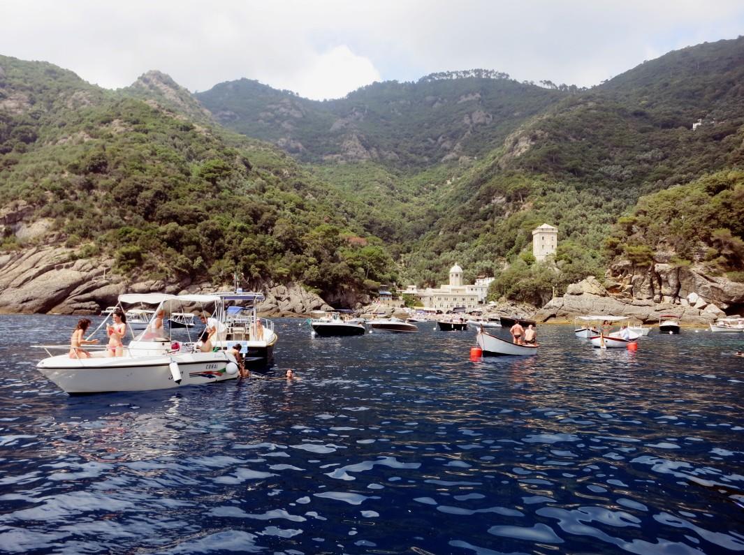 San Frutttuoso Bay Portofino Italy
