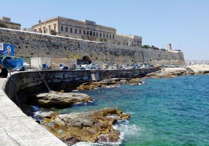 St Elmo Bay dive site Valletta Malta