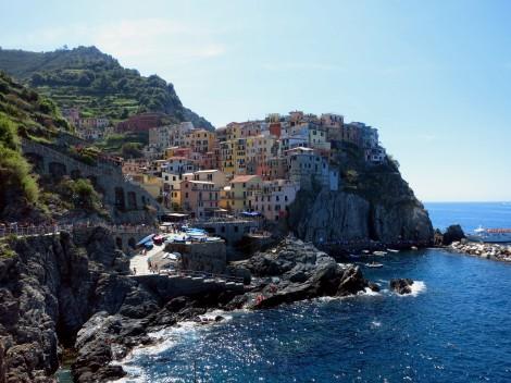 Manarola viewpoint Cinque Terre Italy