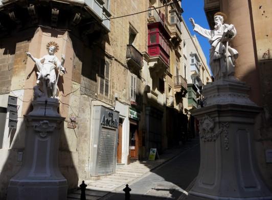 St Paul Street Valetta Malta