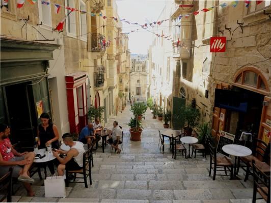 St Lucia Street Valetta Malta