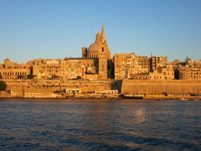 Sunset Valetta Malta