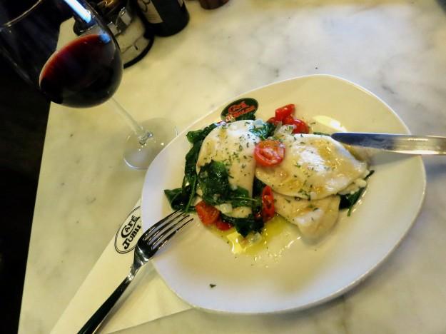 Dinner time at Jubilee Cafe Valetta Malta