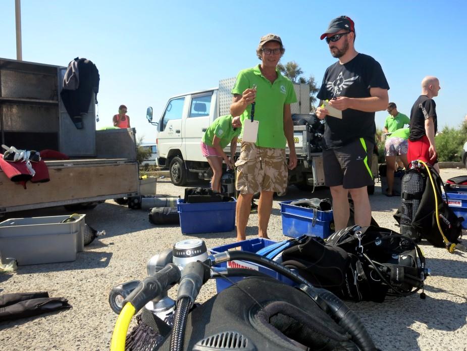 dive briefing wreck diving specialty malta Aquatica