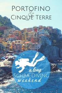 Long scuba diving weekend Portofino Cinque Terre