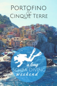 Long scuba diving weekend Portofino Cinque Terre