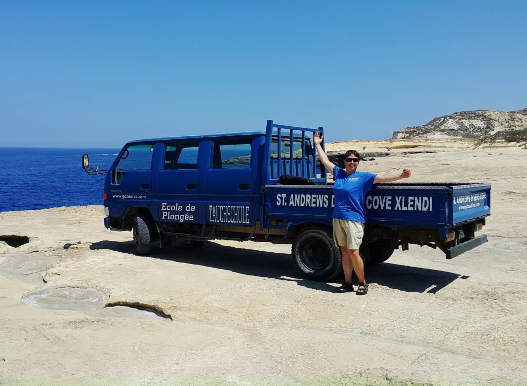 St Andrew's Divers Cove Gozo