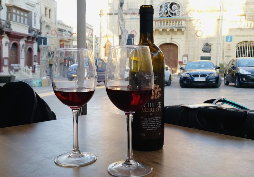 wine Victoria Gozo Malta