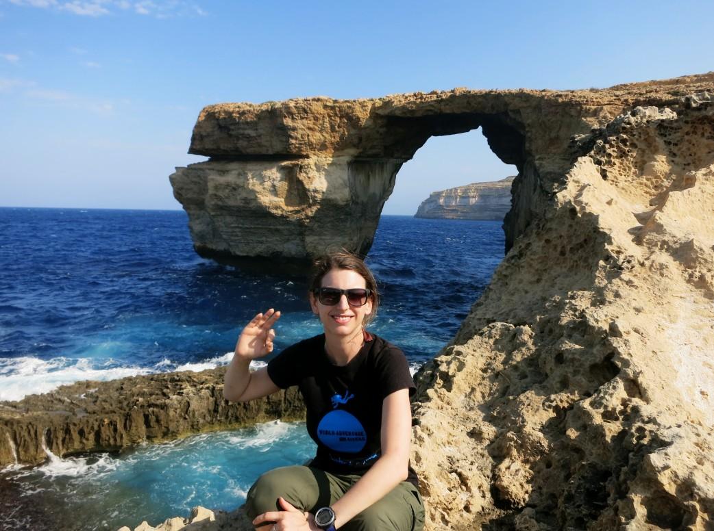 World Adventure Divers at Azure Window Blue Hole Gozo Malta
