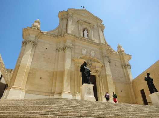 Cathedral Victoria Citadel Gozo Malta