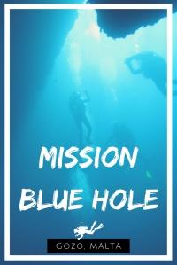 Mission Blue Hole Gozo Malta - scuba diving