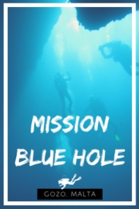 Mission Blue Hole Gozo Malta - scuba diving