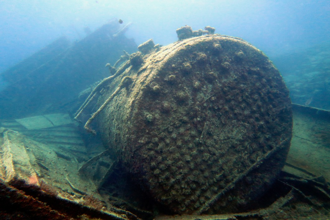 El condesito shipwreck scuba diving Tenerife Canary Islands