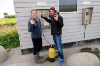 On demand compressor in Dreischor Scuba diving in Zeeland Netherlands