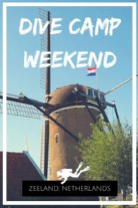 Dive Camp weekend Zeeland Netherlands