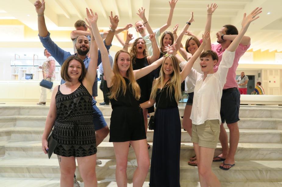Tenerife blog trip crew
