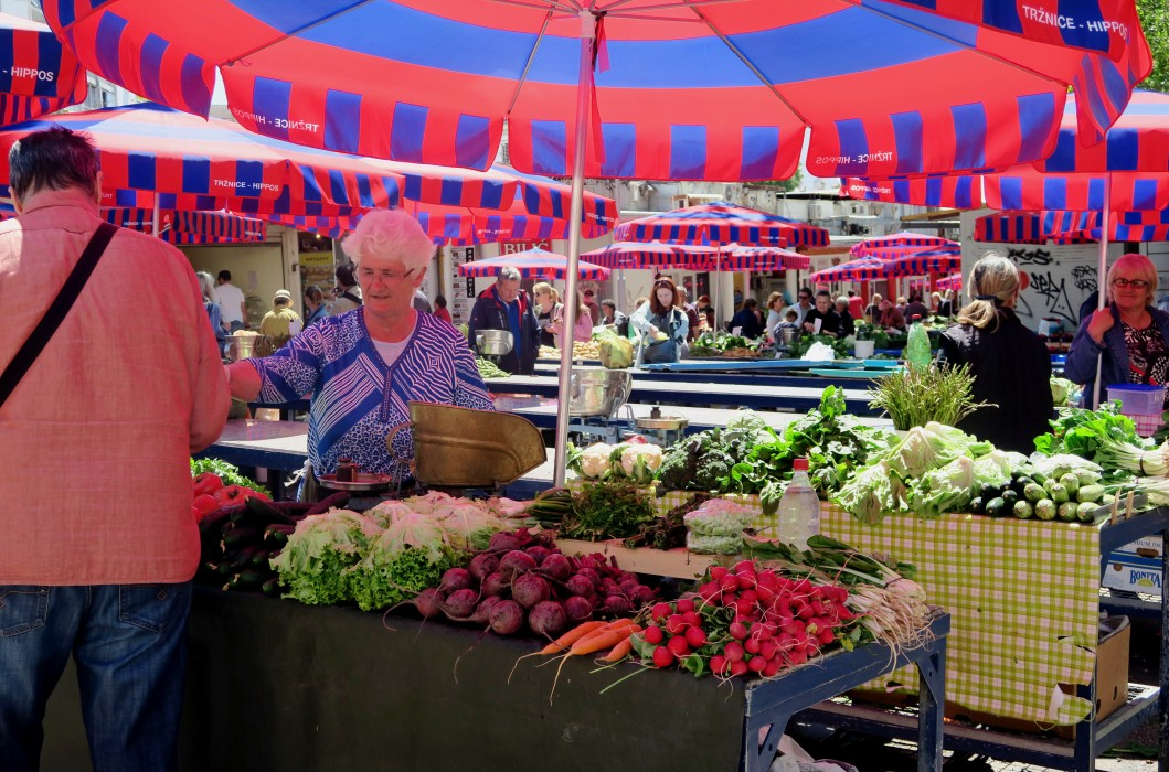 Green Market Split Croatia