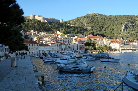 Port of Hvar Croatia