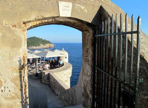 City wall Dubrovnik Croatia