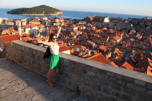 View from City Wall Dubrovnik Croatia