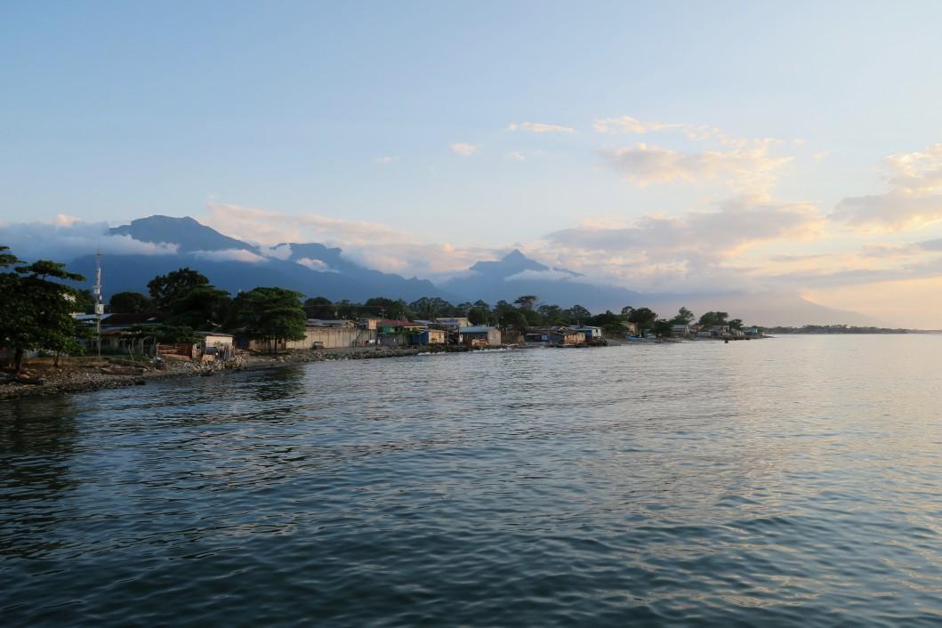 Paseo de los Ceibeños Sunset La Ceiba Honduras