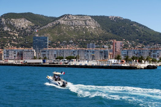 Toulon Bay boat tour France