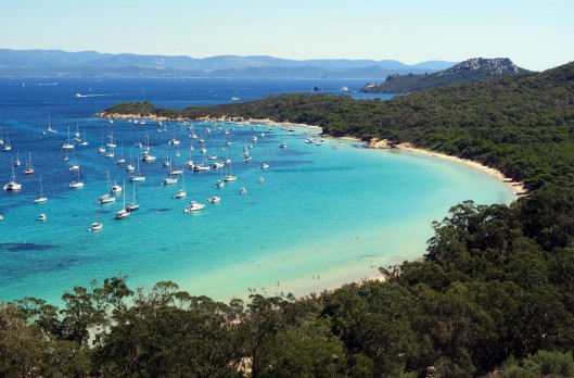 La Courtade Beach Porquerolles Island French Riviera