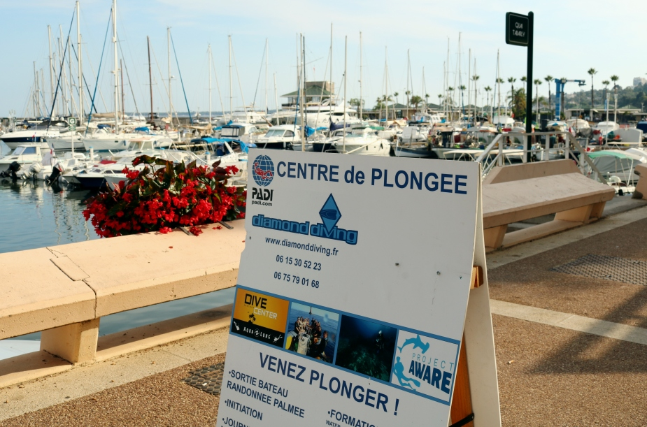Diamond Diving Golfe Juan French Riviera France