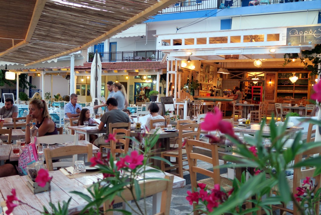 Dinner time in Alonissos Greece