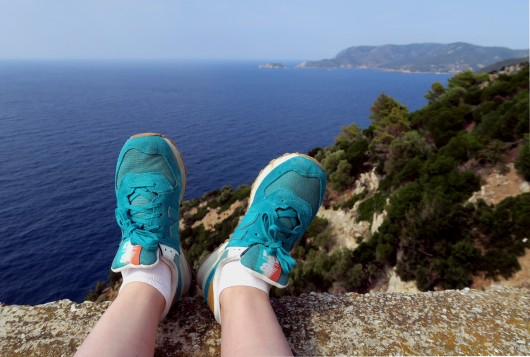 Hiking around Alonissos Greece
