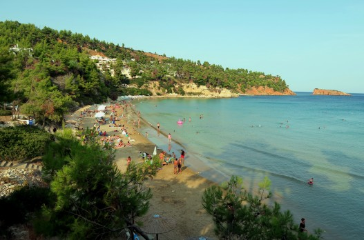 Crissi Milia Beach Exploring Alonissos Island Greece