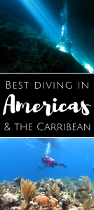 Best diving in Americas and the Carribean