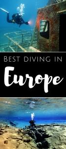 Best diving in Europe