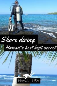Shore diving in Maui and Big Island Hawaii best kept secret