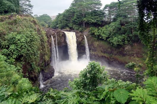 Rainbow Falls Hilo Big Island Hawaii