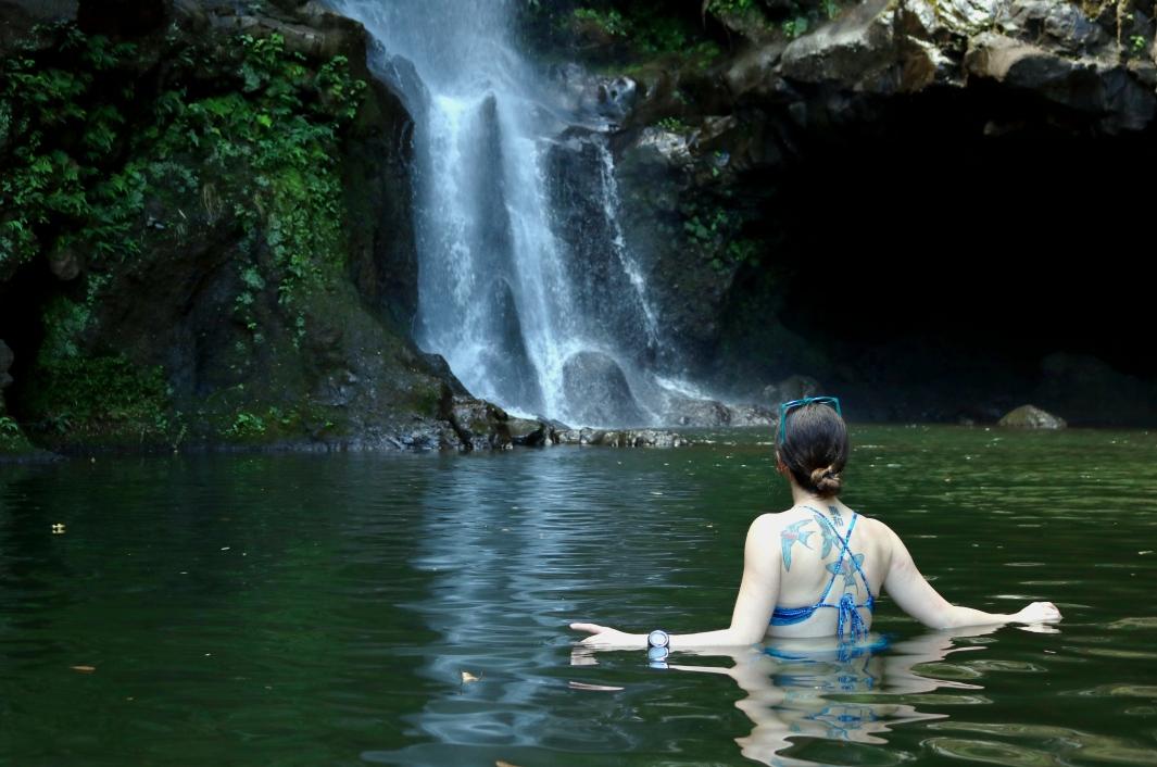 Waterfall Road to Hana Maui Hawaii