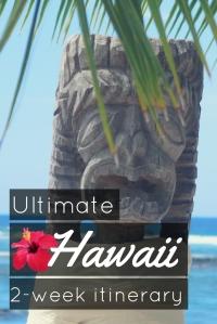 ultimate itinerary hawaii